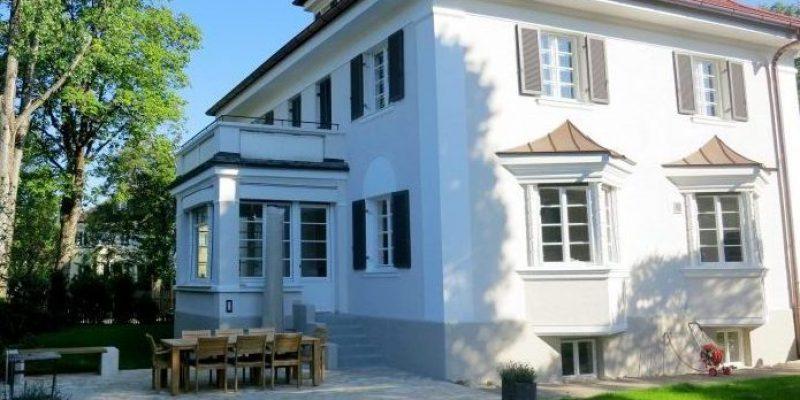 Villa in München Grosshesselohe